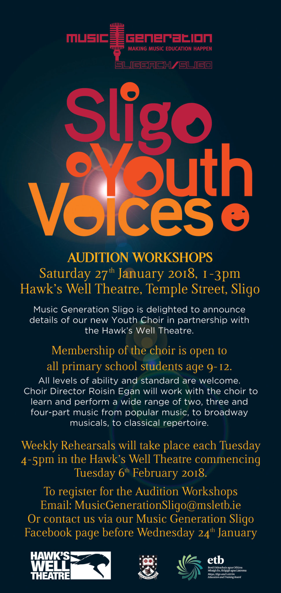 Music Generation Sligo Launches Youth Voices